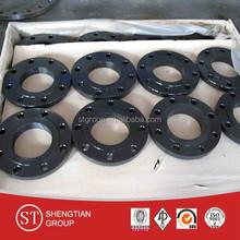 Black Painting CARBON STEEL EN 1092 A105 SO RF FLANGE