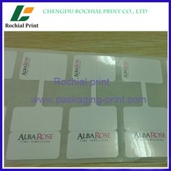 100% factory price custom clear epoxy resin dome sticker printing