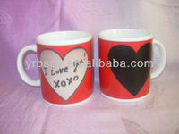 Valentine's Day Gifts!!! Ceramic Heat Sensitive Color Changing Mugs food safety