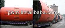 turnkey project designed kiln active lime rotary kiln calcined bauxite rota for cement plant