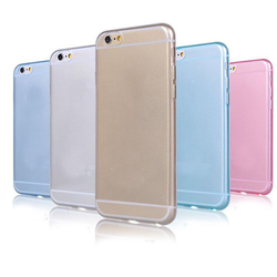 0.45 mm ultra-thin cheap colorful tpu mobile phone shell for blackberry z3