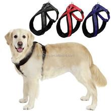 Soft Lint Padded Chest Adjustable Nylon Pet Dog Harness