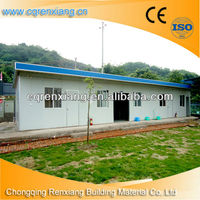 RX Durable Eco-friendly Applicative Prefabricated House and Garden Model