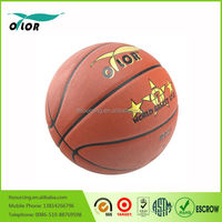 Custom PU leather basketball ball