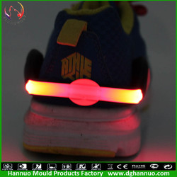 New fashion super light double led kids mini bike lamp for night riding and running