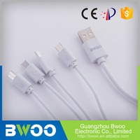 Lowest Price Oem Production 4 Head Multi Charging Usb Cable
