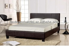 high quality bed AH023/modern cheap faux leather bed AH023 /cheap bed AH023