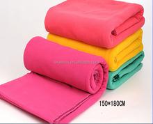OEM Service Supply Type Anti-pilling polar polyester fleece blanket