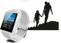 Hot sale smart bluetooth watch U8 Android 4.0 IOS smart watches mobile phone factory direct sale
