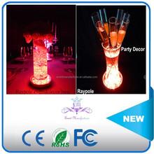 Import china products 10CM Single Color promotional gifts under vase light wedding decoration