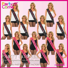 Hen Party Sashes Girls Night Out Accessory Pink Wedding Sash