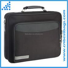 "classic black 15.6"" Business Laptop Case branded laptop bag"
