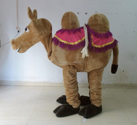 adult 2 person camel costumes 2 person mascot costume