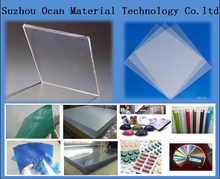 transparent rigid PVC sheet for printing business card