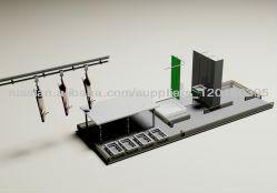 Модуль бытовой с туалетом и душем, 5 раб.мест + стол