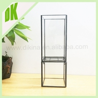 New products 2015 innovative product chinese decorative glass vase designer home decor