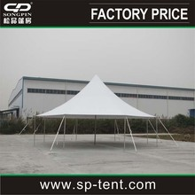 12mx12m aluminum pole and peg tent used for outdoor events