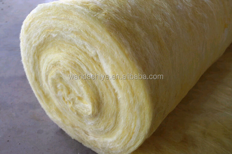 Aluminum foil glass wool blanket thermal insulation material