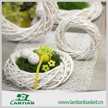 High quality 100% natural handmade wicker hang christmas decoration