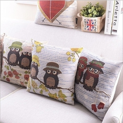 Top grade professional printed handmade cushion cover