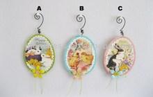Hot Sale Easter Bunny Easter Egg Hanging Ornaments