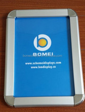 customize aluminum photo frame, a1 a2 a3 a4 metal picture frame, customized snap frame