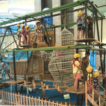 Kids indoor shopping mall adventure playground