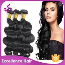 High quality human hair from brazilian hair exporters china