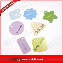 Factory Directly Colorful China Hang Tag for Garments