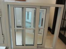 Nord America stile utilizzato finestre in alluminio con un design griglia e mezzaluna/alluminio finestre e porte scorrevoli