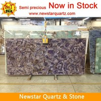 Purple Amethyst Stone Slabs, Semiprecious Stone Decorative
