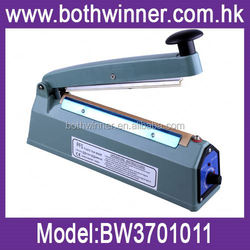 auto plastic hand impulse sealer ,H0T162 impulse manual induction sealing machine , manual cutter sealer