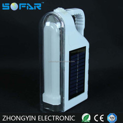 Multifunctional Portable Solar Charger Emergency Lights LED Rechargeable Lantern
