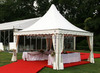 PVC Fabric Aluminum Frame Camping Cheap Small Wedding Tent
