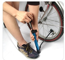 Outdoor Riding Mini Pump Cycling Mountain Road Bike EDC Gas Pump High-Pressure MTB Bicycle Pump Pedal Straddling Inflator Pumps