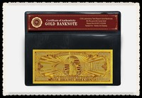 High Quality American 1 Billion Dollar Banknote 24k Gold Banknote New Products For Decoration