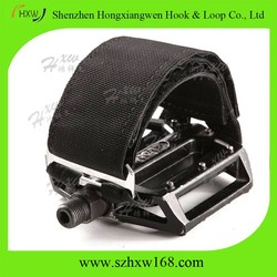 New Fixed Gear PEDAL STRAPS Black Fixie Bike BMX Bicycle Track Toe Clip