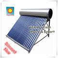 Todo el acero inoxidable de baja presión Calentadores Solares de Agua