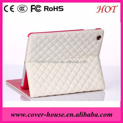 Hot selling Luxury Sheep Skin PU Leather Case for iPad mini 3 In stock