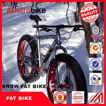 "24 Speeds 26""""x17""""x4.0"""" Fat Tire Snow Bike Fat Bicicleta Mountain Bike26 Suspension Fork Aluminium Alloy Frame cheap"
