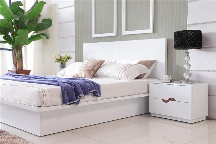Credenza Moderna In Noce : Mobili camera da letto moderna bianco noce impiallacciato pannello