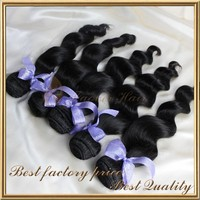 Express alibaba indian 30 inch remy human hair weft black star micro braid weft hair