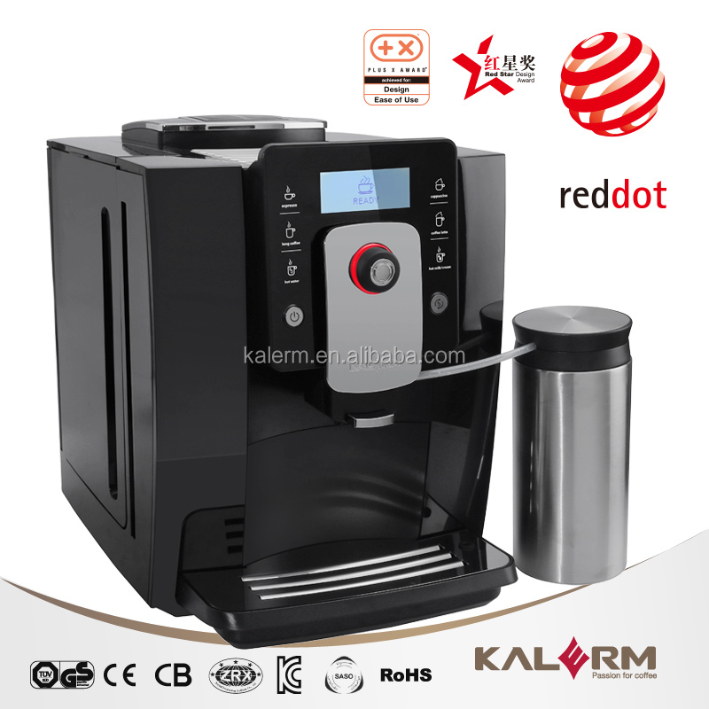Top Grade Automatic Bean To Cup One Touch Cappuccino/espresso Coffee Maker - Buy Bean To Cup ...