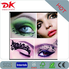 custom eye tattoo design/non-toxic eye shadow stickers