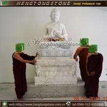 Hand Carved Marble Antique Buddha Statue, stone buddha