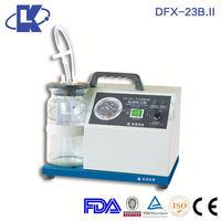 DFX-23B.II Ac/Dc Aspirator Unit surgical suction apparatus powder suction pump