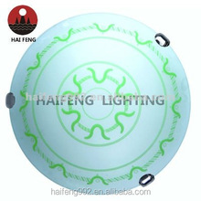 round glass ceiling light for export