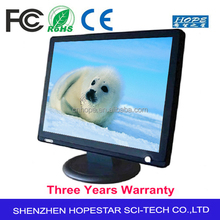 4 or 5 Wire Resistive Optional 17 inch Touch Monitor
