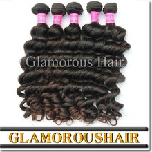 Grade 7a natural wave raw virgin brazilian human hair, unprocessed remy 100 human hair