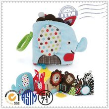 Wholesale Custom Factory educational toy baby soft cloth book